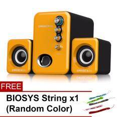 BIOSYS [SP40] EARISE Q8 2.1 Subwoofer USB Powered Mini Speaker For PC/Laptop Malaysia