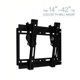"Harga Black Tilting LCD LED Ultra HD TV Wall Mount Bracket Fit TV Size14""~42"" NEW"