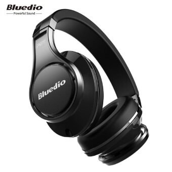 Bluedio UFO Bluetooth Headphones Wireless headset with Mic(Black)