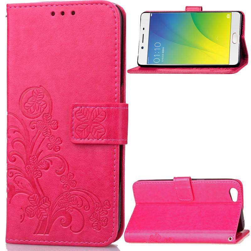 BYT Flower Debossed Leather Flip Cover Case for Oppo R9s Lazada Malaysia .