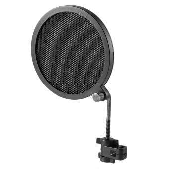 Harga CHEER PS-2 Double Layer Studio Microphone Mic Wind Screen PopFilter For Recording black