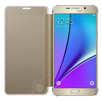 Samsung Galaxy A5 2017 Clear View Cover Gold