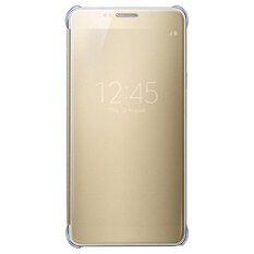 Samsung Galaxy S6 edge Clear View Cover Gold