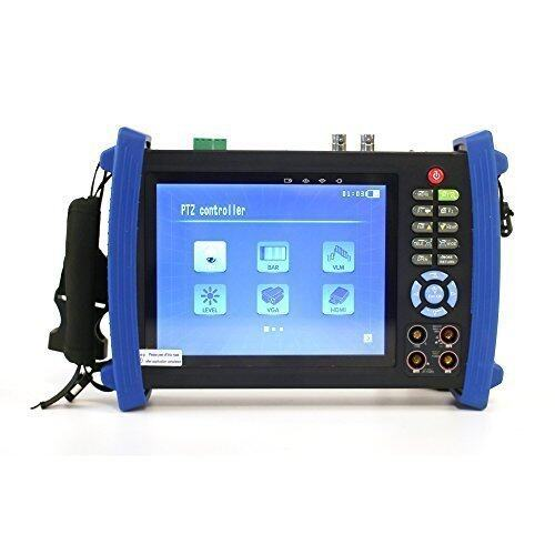 Cloudsea 7 inch LCD VGA CCTV Camera Tester Input PTZ Tester Digital Multimeter HVT-3600M