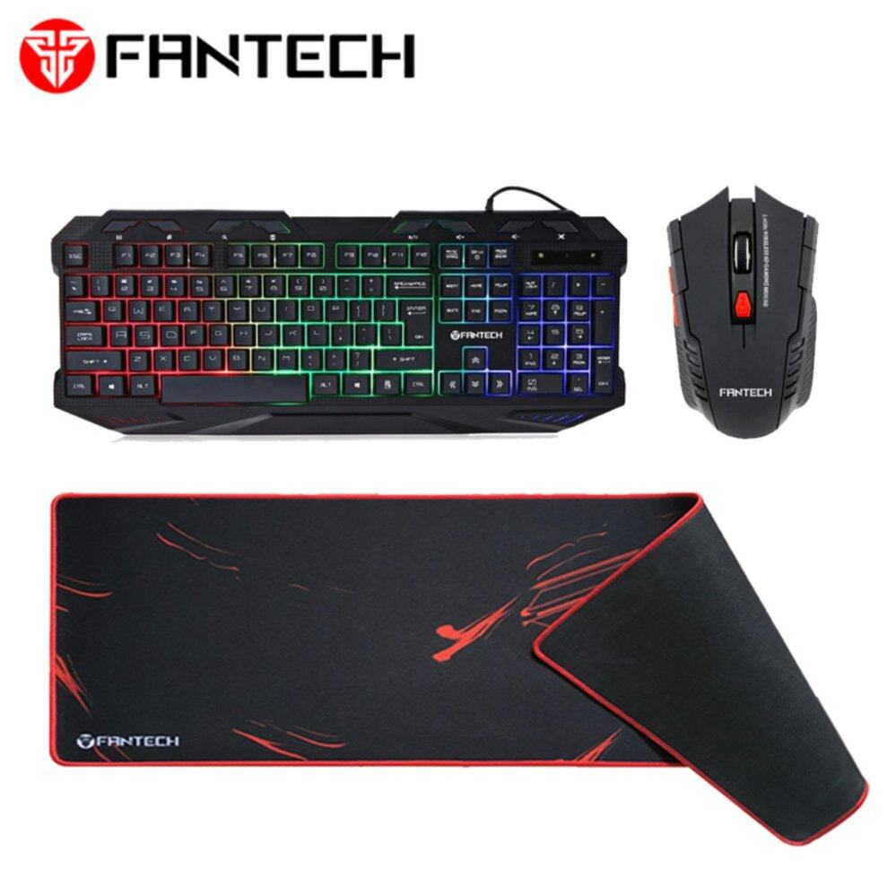 Fantech Raigor W4 Gaming Wireless Mouse Daftar Harga Terlengkap Mirip With 2 Mousepad And 4 Battery Combo K10 Backlit Pro Keyboard 6 Buttons