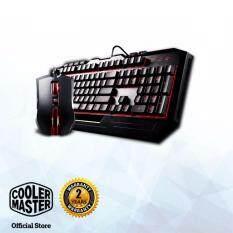 Cooler Master Devastator Gaming Keyboard & Mouse Combo (Red LED) Malaysia