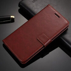 MYR 29. Crazy Horse Skin Wallet Retro Flip Leather Case With Card Slots Holder For huawei ...