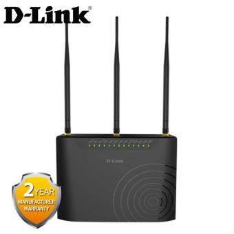 D-Link DSL-2877AL ADSL2+ AC 750M 1xPort WAN + 4xLAN Dual-Band Modem+ 2 x USB 2.0 and (3 x 5dBi Antenna)