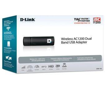 D-LINK DWA-182 Wireless AC1200 Dual Band USB WiFi Adapter - 4