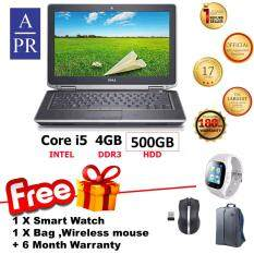 Dell E6430 Laptop Notebook Corei5 ,4GB ,500GB,Win 7 ,14 ( Factory Refurbished ) Super Deal  + FREE Smart Watch Malaysia