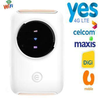 Digi 4G LTE Wifi Router 150Mbps Mini Mobile Hotspot Car Mifi Modem Dongle 3G 4G Wi-Fi Router for Celcom,Maxis,Yes 4G