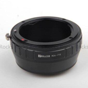 Dollice Lens Adapter Suit For Nikon to Fujifilm X Camera - 4