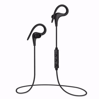 EcoSport Noise Canceling Sweat-proof Bluetooth 4.1 Ear Hook Stereo Headset Earbuds Headphones with Mic Hand Free for Sport Running Gym Cell Phones and Music