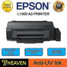 Epson L1300 A3 Color Single Function Ink Tank System Printer With Anti UV  Ink