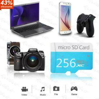 EVO Extreme Micro SD Card 90MB/s 256GB C10 SDHC/SDXC Memory TF Card(Blue)