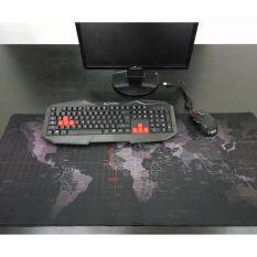 Extra Large Gaming Mouse Pad - World Map 90x40cm Malaysia