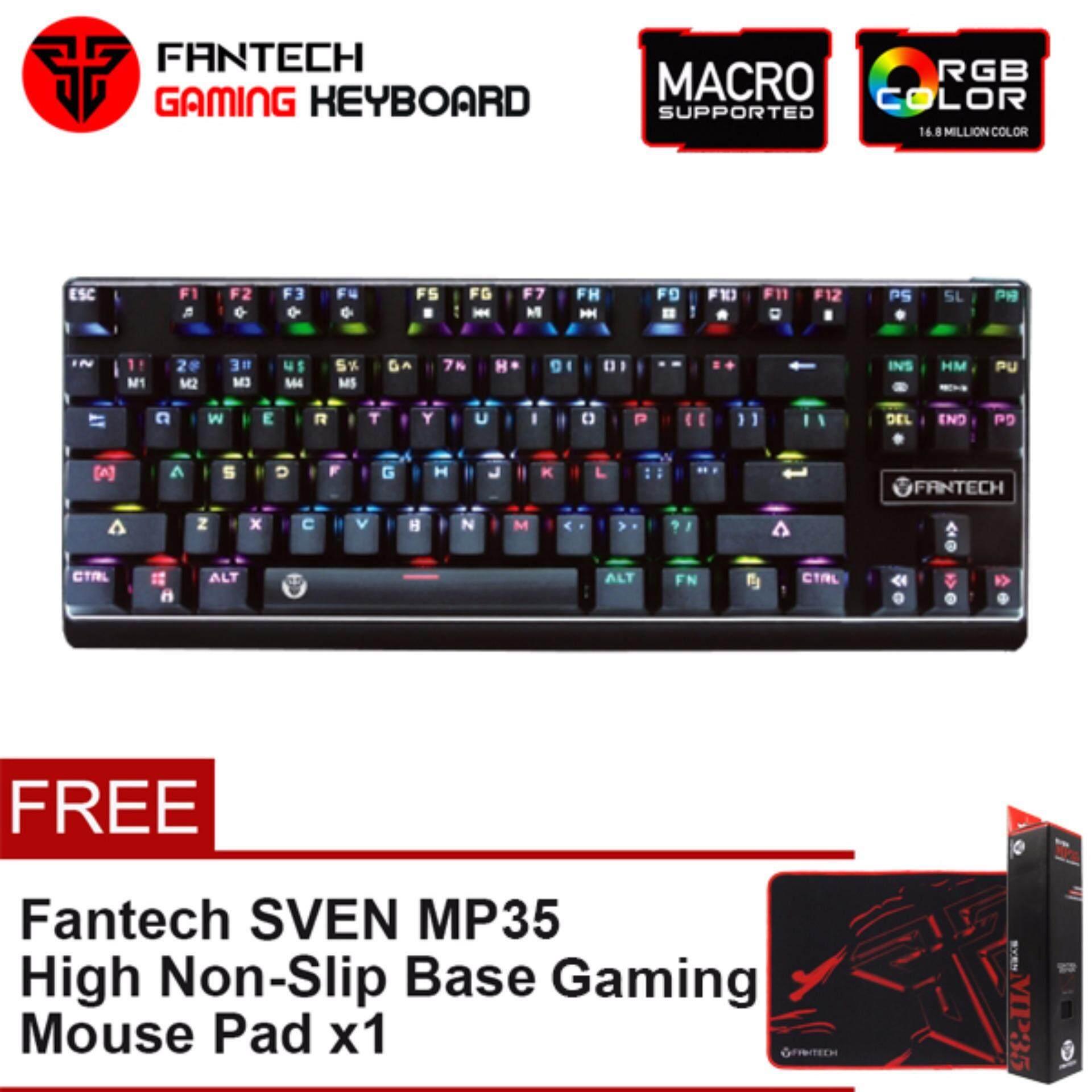FANTECH MK871 RGB Phantheon Mechanical Gaming Keyboard Tournament Edition Anti-Ghosting with 10 Spectrum Modes
