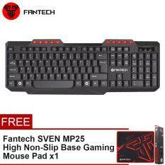 FANTECH [SP16] K210 Multimedia Office Keyboard 114 Key Wired USB 2.0 For PC/Laptop Malaysia