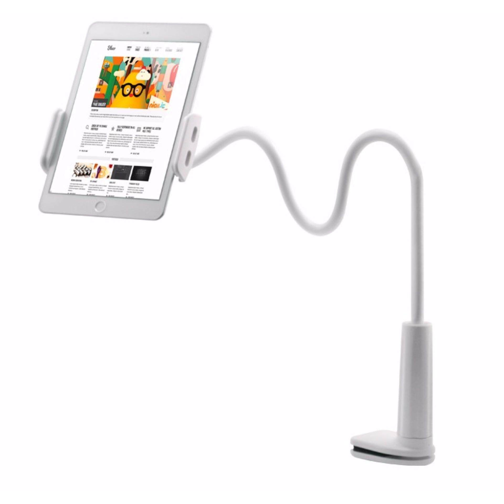 FLEXIBLE DESKTOP LAZY BED TABLET HANDPHONE HOLDER 800 MM WITH MOUNT image on snachetto.com
