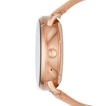 FOSSIL Q WANDER DISPLAY LIGHT BROWN LEATHER SMARTWATCH - 3