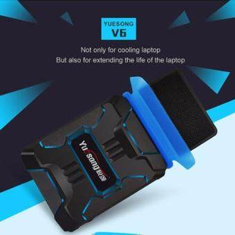 [+Free Gift!] Yuesong V6 USB Portable Laptop Cooler Cooling Fan Notebook Cooler Laptop Cooling Pads Air Extracting Cooler Malaysia