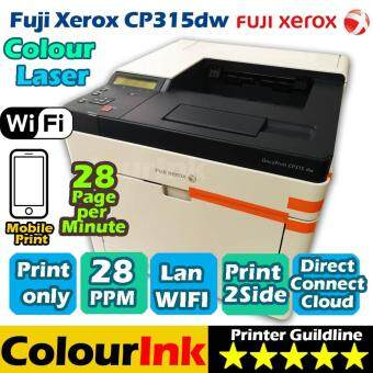 Fuji Xerox DocuPrint CP315dw Colour Laser ( Network / Duplex / Wifi )
