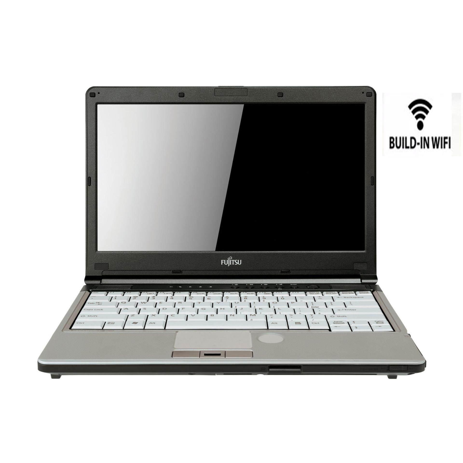 Fujitsu lifebook 13.3 Celeron 2gb ddr3 160gb hdd build-in wifi laptop notebook ( Refurbished ) Malaysia