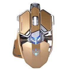 G10 250 - 4000 DPI LED OPTICAL USB MECHANICAL GAMING MOUSE (TYRANT GOLD), Tyrant Gold Malaysia