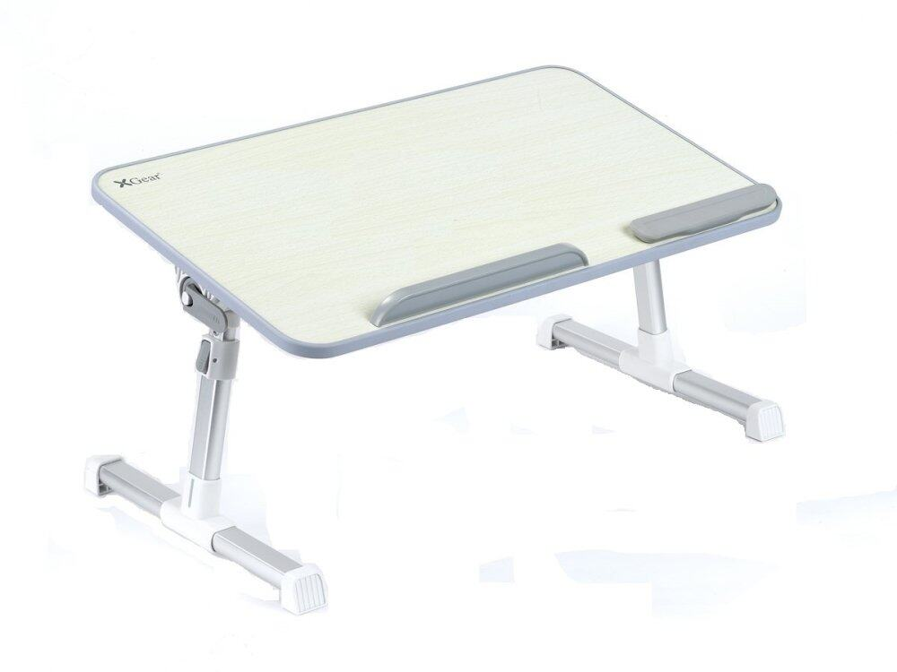Genuine (1 Year Warranty) Xgear E1 Stand for Laptops (Up to 17) and Tablets (Up to 12.9) - Oak Color Malaysia