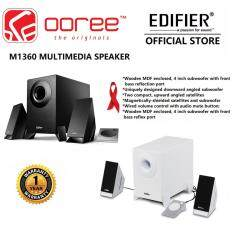 GENUINE EDIFIER M1360 2.1 speaker system with Wireless remote for volume and audio source selection Malaysia