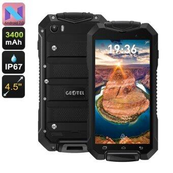 Geotel A1 Rugged Android 7 Smartphone Black