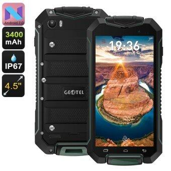 Geotel A1 Rugged Android 7 Smartphone Green