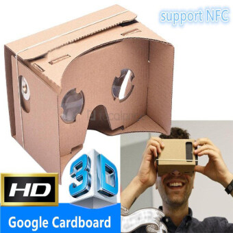 Google Cardboard VR 3D Glasses Android iOS Phone (With NFC Support)