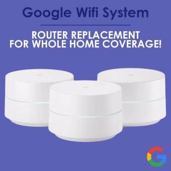 Google Wifi system (Pack of 3) - Router replacement for whole home coverage