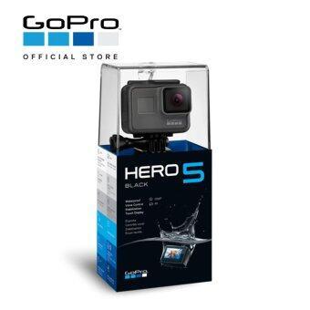 GOPRO HERO 5 BLACK ACTION CAMERA W/ 3 WAY-ARM & 64GB CARD (ORIGINAL M'SIA GOPRO WARRANTY)