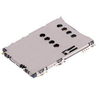 High Quality SIM Card Slot + SIM Card Connector for Samsung GalaxyTab P1000 / Galaxy Tab P6200 / Galaxy Tab 2 (7.0) / P3100 / i5800 /S5620 / S5625 / S5862 / S5560c / i5801