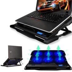 "HLL 2 Usb Por And Six Cooling Fan Laptop Cooler Cooling Pad Notebookstand For 14.6""-16"" Laptop Malaysia"