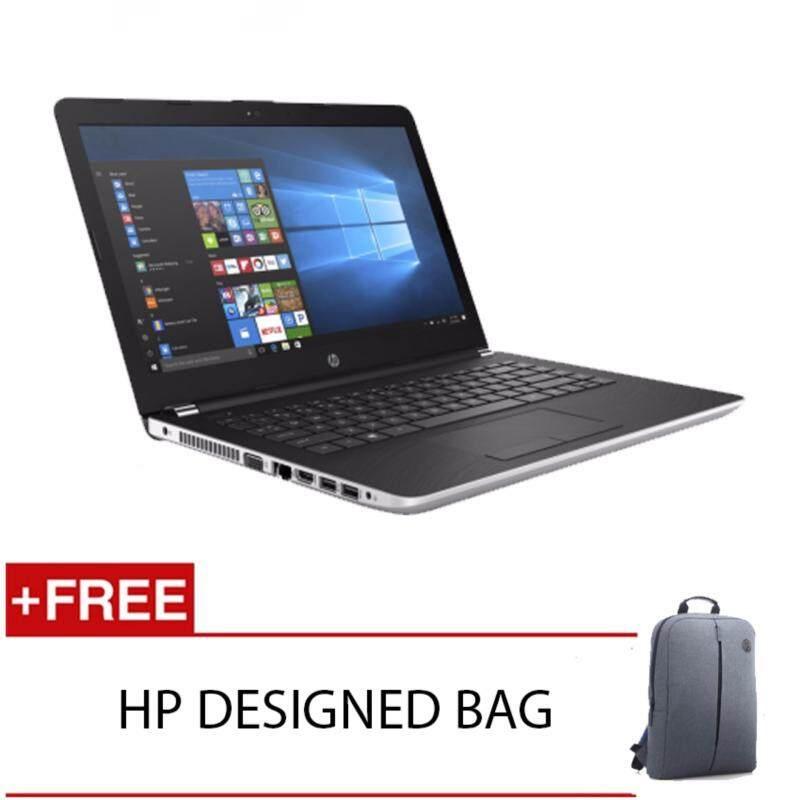 HP 14-BS577TU I3-6006U 4GD4 1TB WIN10H (SILVER) FREE HP DESIGNED BACKACK Malaysia