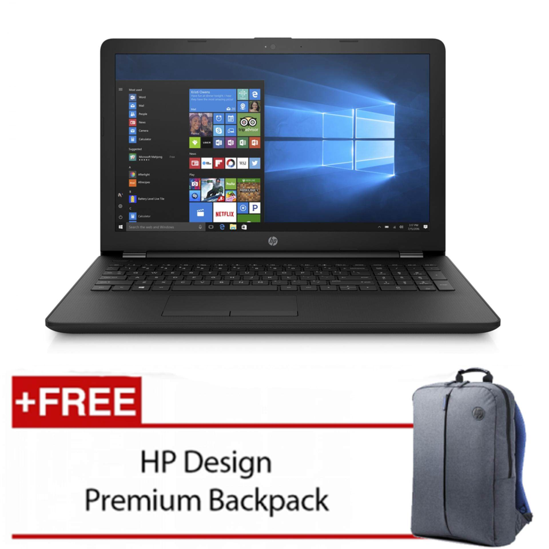 HP 15-BS641TX/BS642TX 15 Laptop  i5-7200U  4GB  1TB  AMD Radeon 520 Graphics [BLACK/SILVER] Malaysia