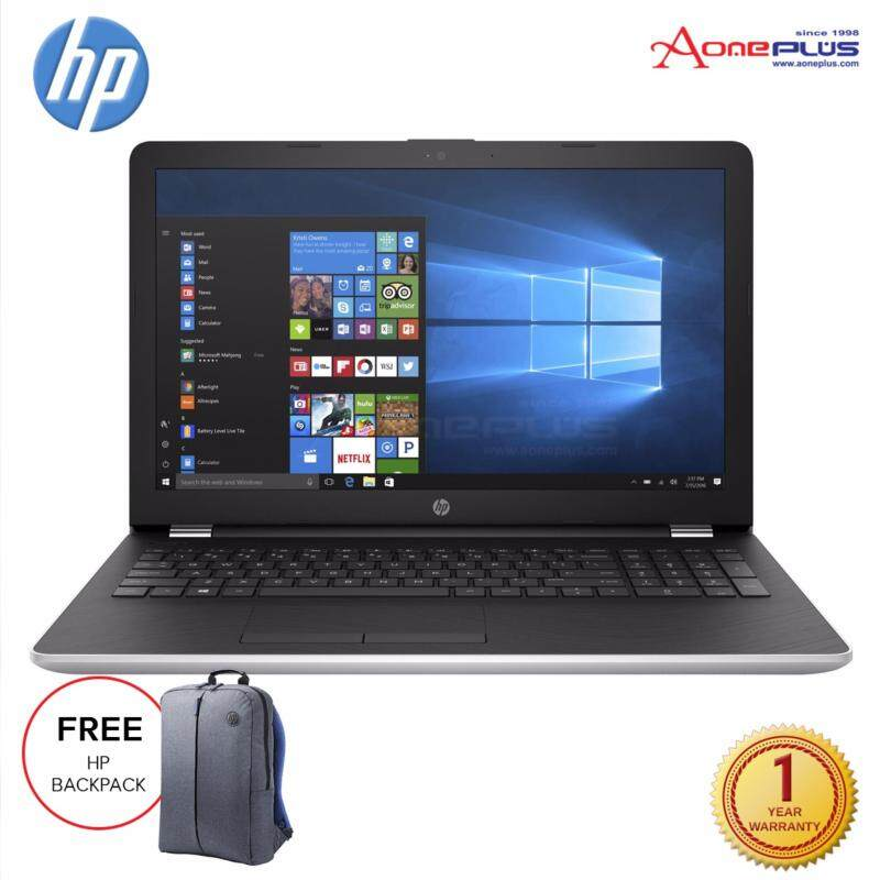 HP 15-bw075AX 15.6 Laptop/Notebook (Silver) + Free HP Backpack Malaysia