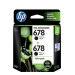 HP 678 Ink Cartridge (Black x 2) Twin Pack
