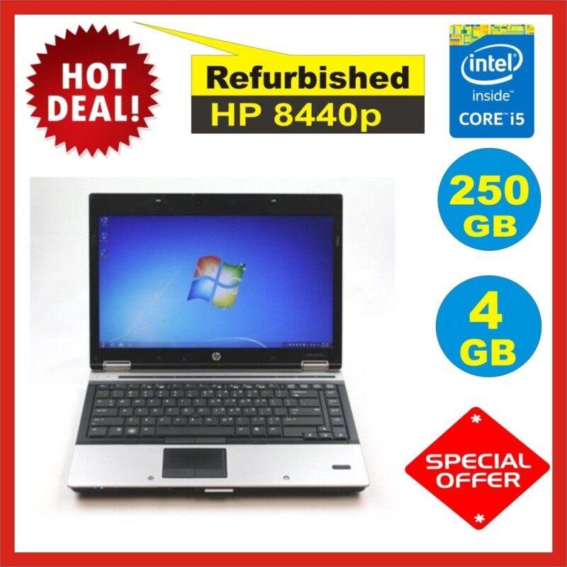 Hp Eliitebook 8440p Intel Core i5 4GB RAM 250GB HDD WIN 7 Pro Malaysia