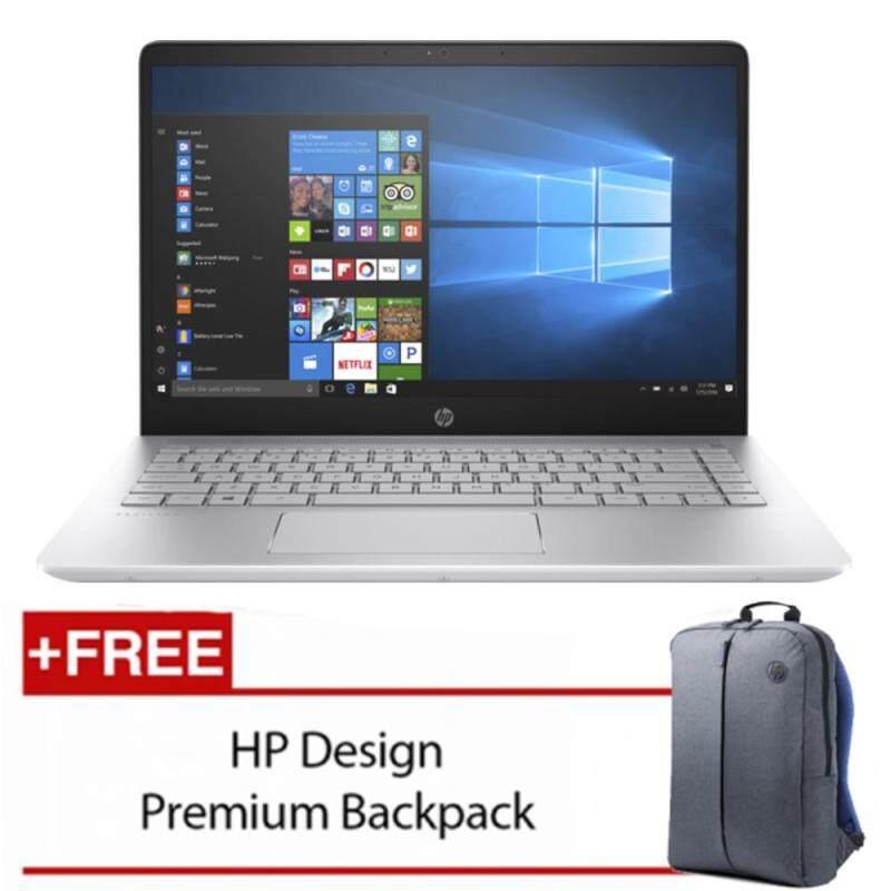 HP Pavilion 14-bf103TX 14 FHD Laptop Silver (i5-8250U, 4GB, 1TB, 940MX 2GB, W10) Malaysia