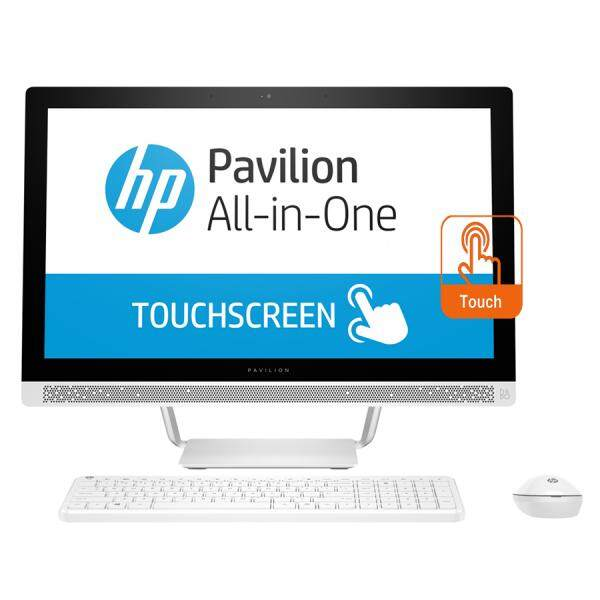 HP Pavilion 24-b110d 24 FHD AIO Touch Desktop PC (A10-9630P, 8GB, 1TB, Intel, W10) Malaysia