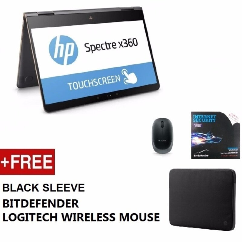 HP Pavilion X360 Touchsmart 14-BA063TX Notebook (i3-7100U, 4GB DDR4, 500GB, NO DVD, GF 940MX 2GB, 14 TOUCH, SILVER, W10H, 2Yr Wty) FREE Sleeve + BitDefender Internet Security + Logitech Wireless Mouse Malaysia