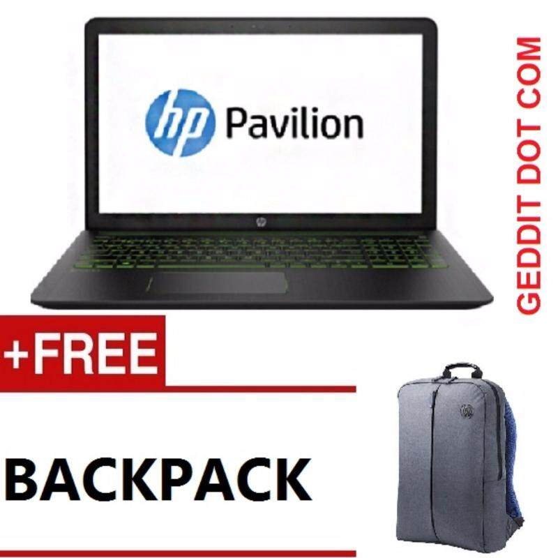HP POWER PAVILION 15-cb094TX (Green) / 15-cb511TX (Ghost White) (i7-7700HQ,15.6FHD,4GB,1TB,GTX1050,NO ODD,WIN10,2 YEAR ONSITE WARRANTY) FREE BACKPACK Malaysia