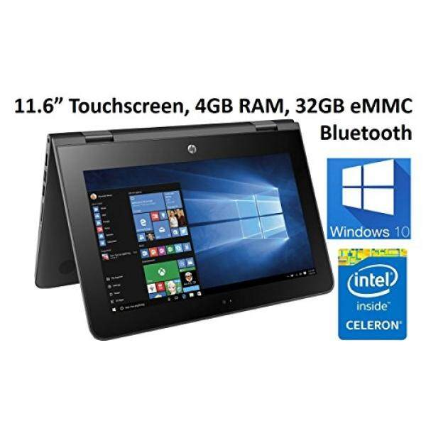 HP X360 11-AB011DX 11.6-Inch Touchscreen 2-in-1 Convertible Premium HD Laptop (Intel celeron N3060, 4GB RAM, 32GB eMMC, Windows 10 Home) Black Malaysia
