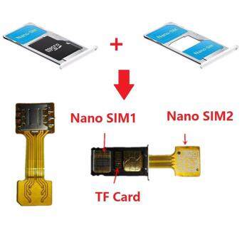 Hybrid Double Dual SIM Card Micro SD Adapter for Android ExtenderMicro To Nano SIM Adapter for XIAOMI REDMI NOTE 3 4 3s PRO Max
