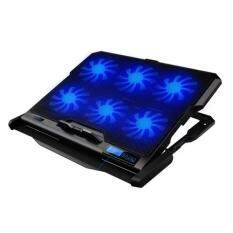 ICE COOREL K6 [NP48] Laptop Cooler Cooling Pads Super Mute 6 Fans Ice Cooling with Rack Stand and Built-in LCD Display 6 Speed of Fans for Laptop/Notebook Malaysia