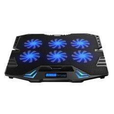 ICE COOREL K8 [NP48] Laptop Cooler Cooling Pads Super Mute 6 Fans Ice Cooling with Rack Stand and Built-in LCD Display 6 Speed of Fans for Laptop/Notebook Malaysia